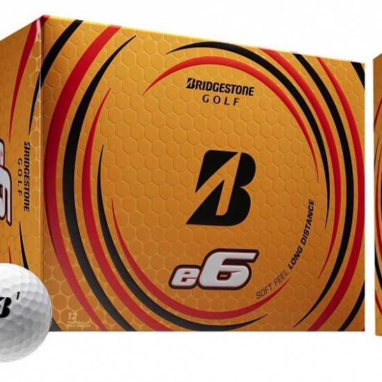 Loptičky Bridgestone 21 e6 Dozen (12 loptičiek)